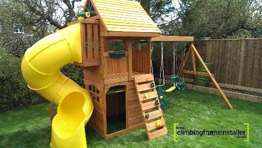 Selwood Products Grandview Climbing Frame Climbing Frame