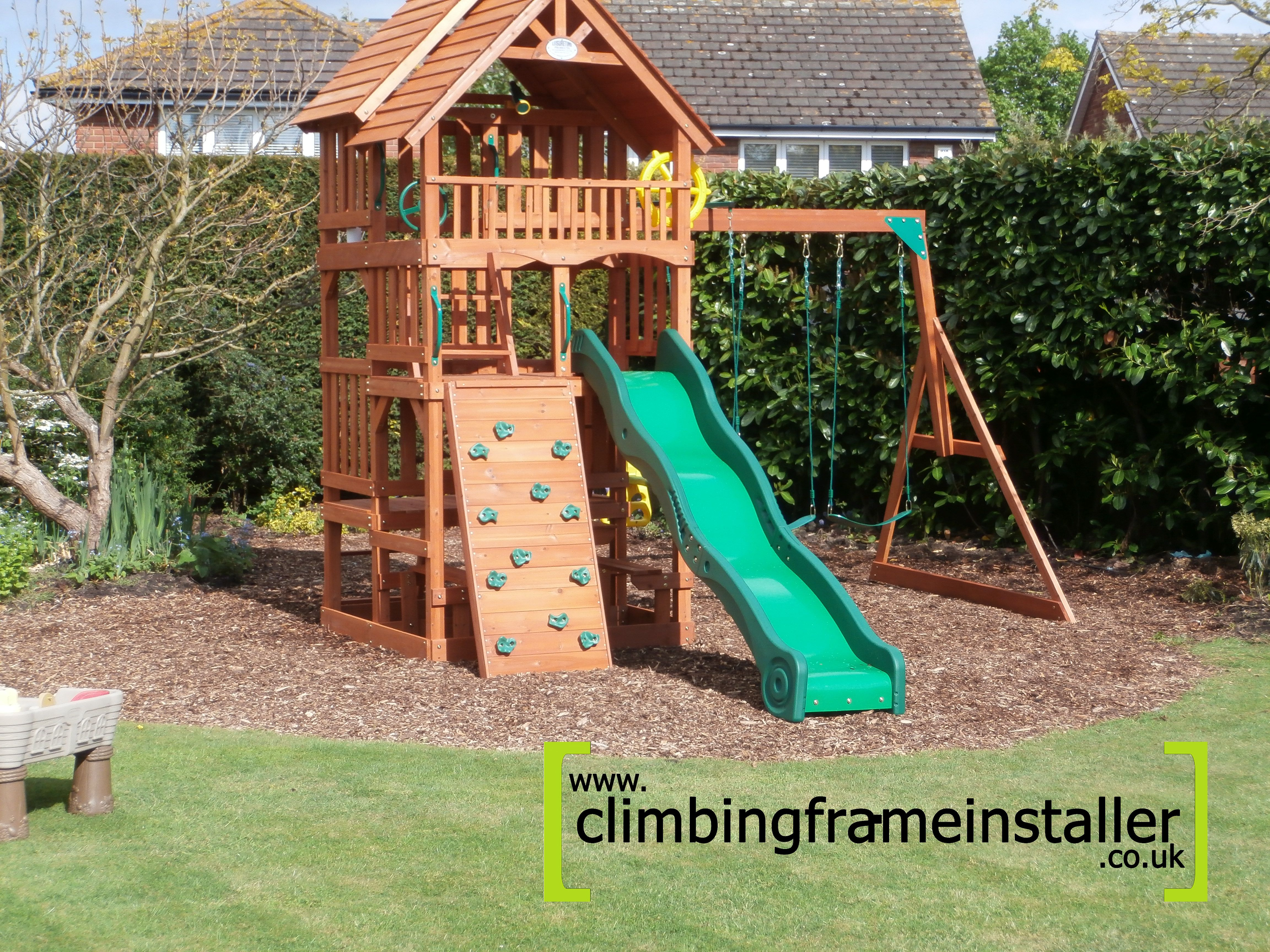the selwood products highlander climbing frame climbing. Black Bedroom Furniture Sets. Home Design Ideas