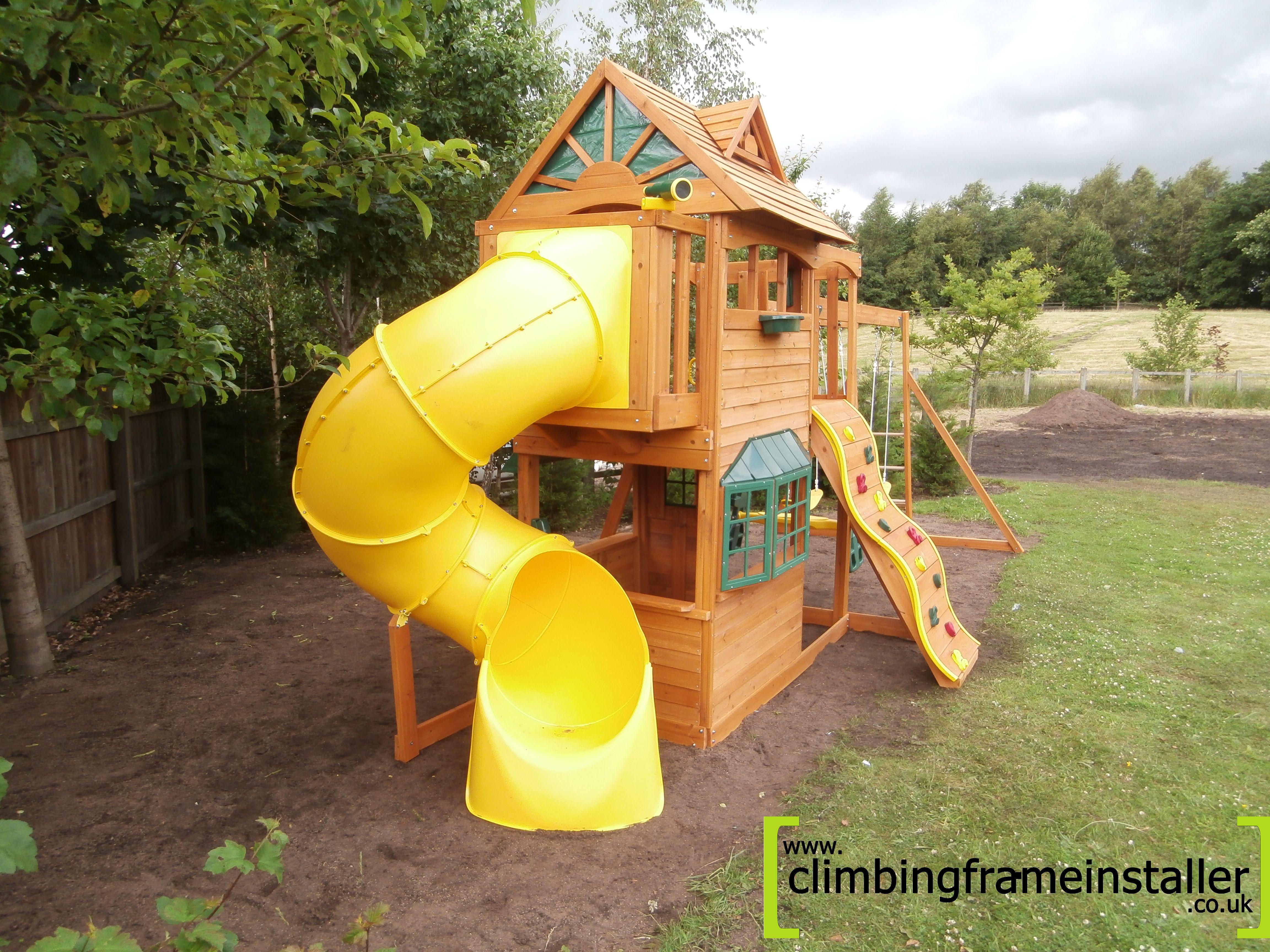 Selwood Sandpoint Wooden Climbing Frame Climbing Frame Installer