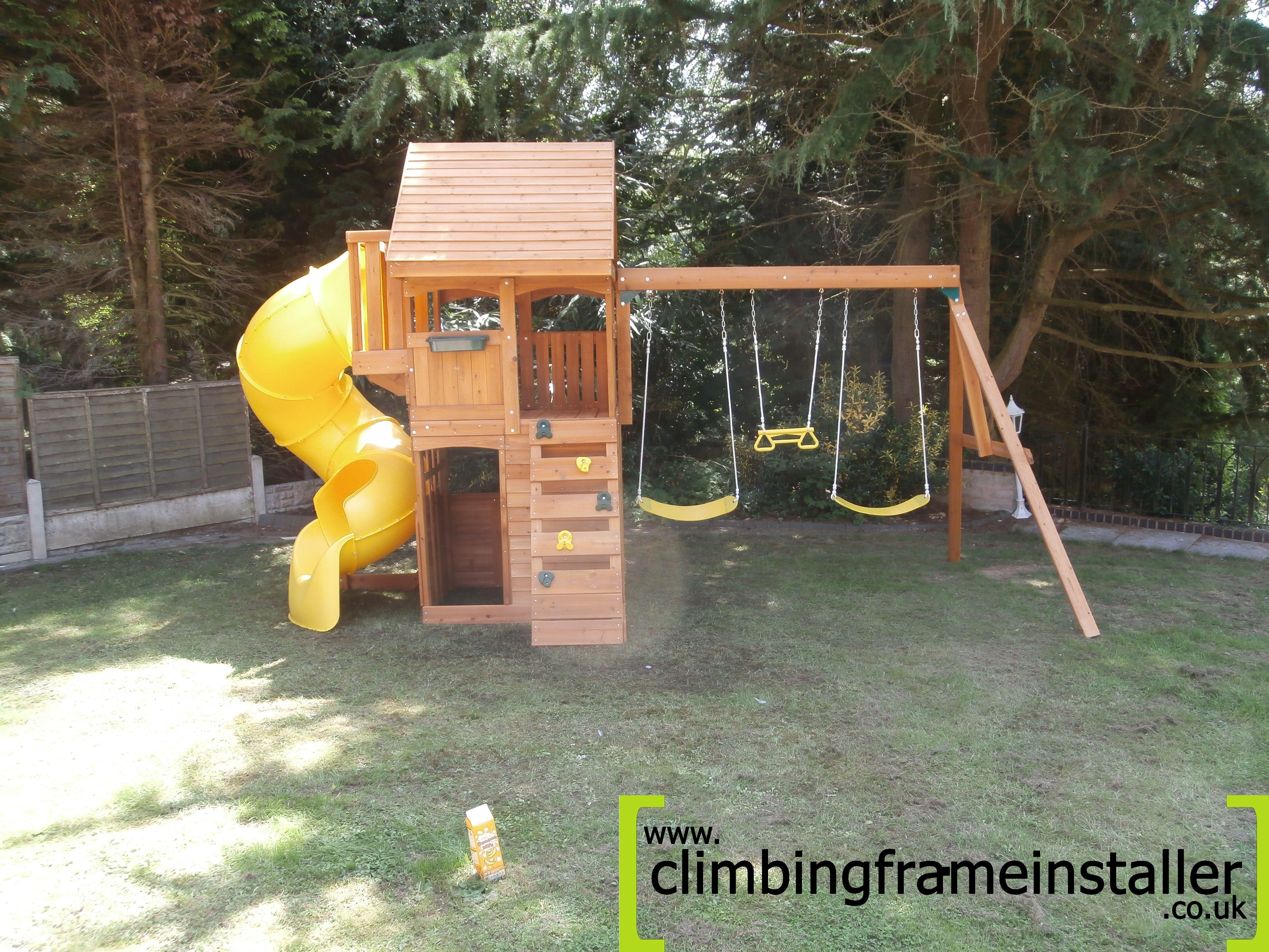 The Grandview Cedar Climbing Frame Climbing Frame Installer