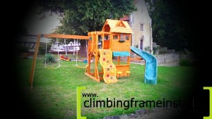 Climbing Frame Erection Team