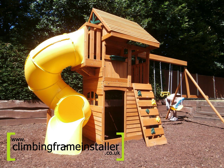 The Selwood Grandview Climbing Frame Climbing Frame Installer