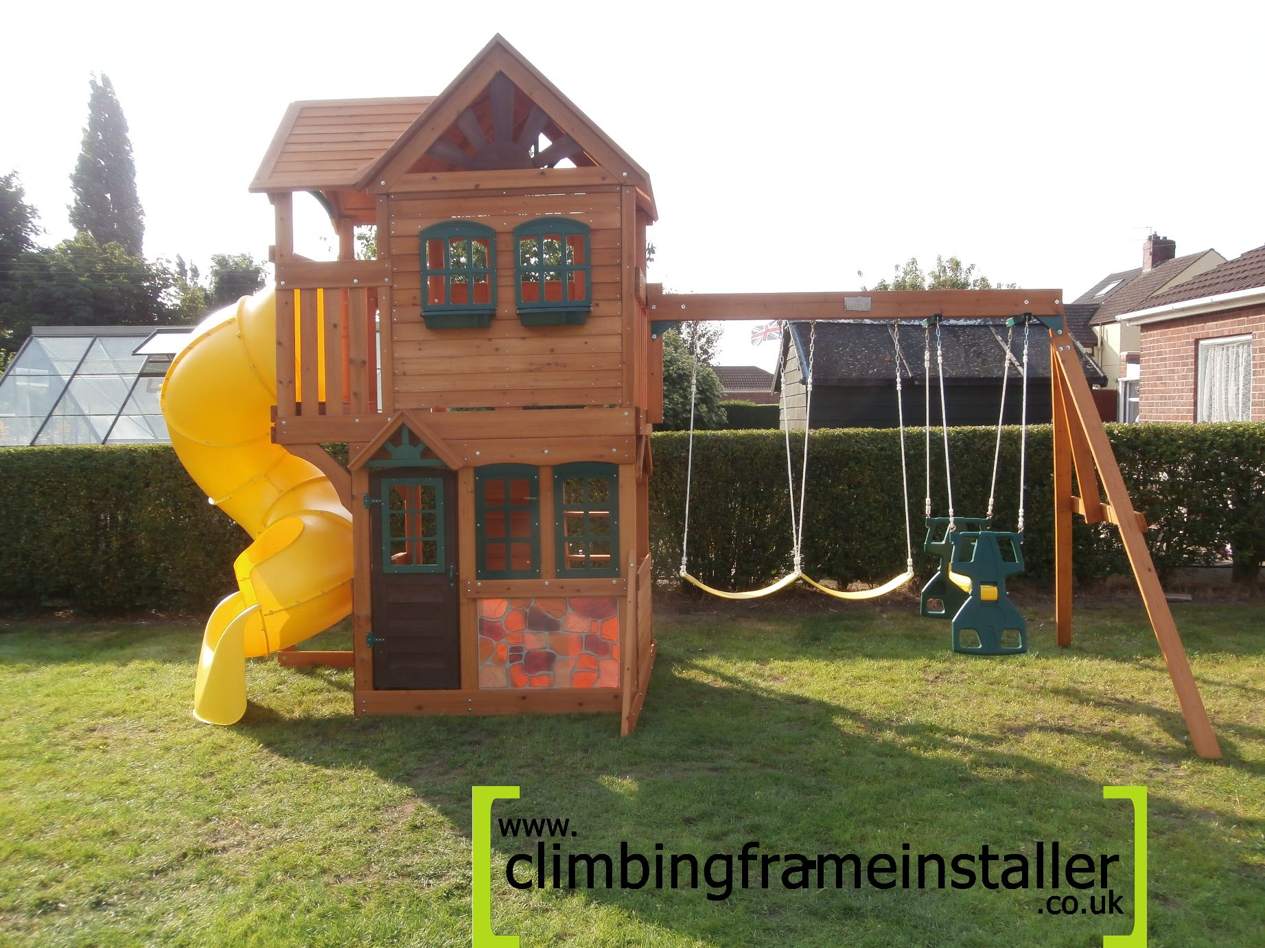 garden play equipment climbing frame installer. Black Bedroom Furniture Sets. Home Design Ideas