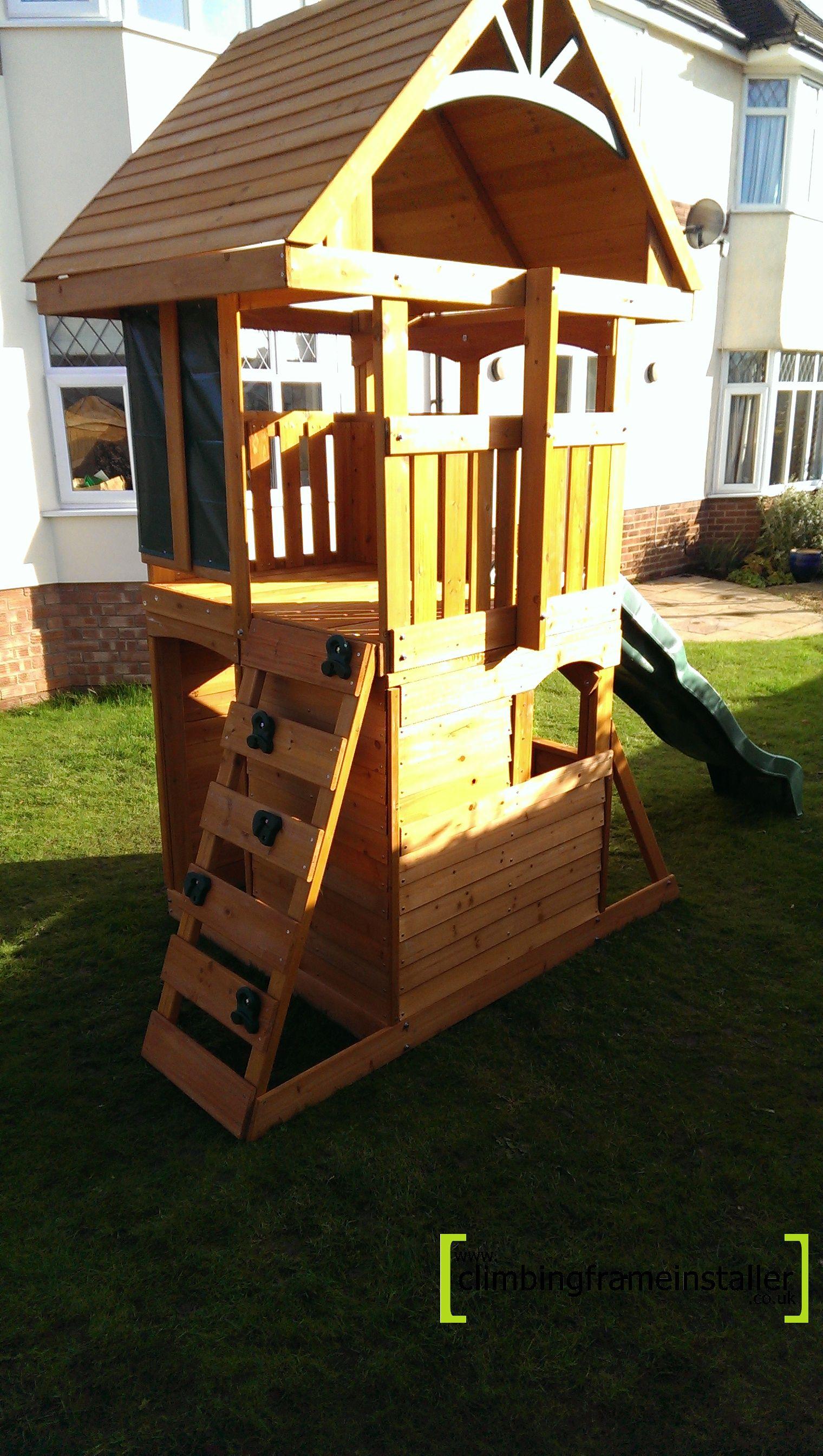 rendle fort climbing frame climbing frame installer. Black Bedroom Furniture Sets. Home Design Ideas