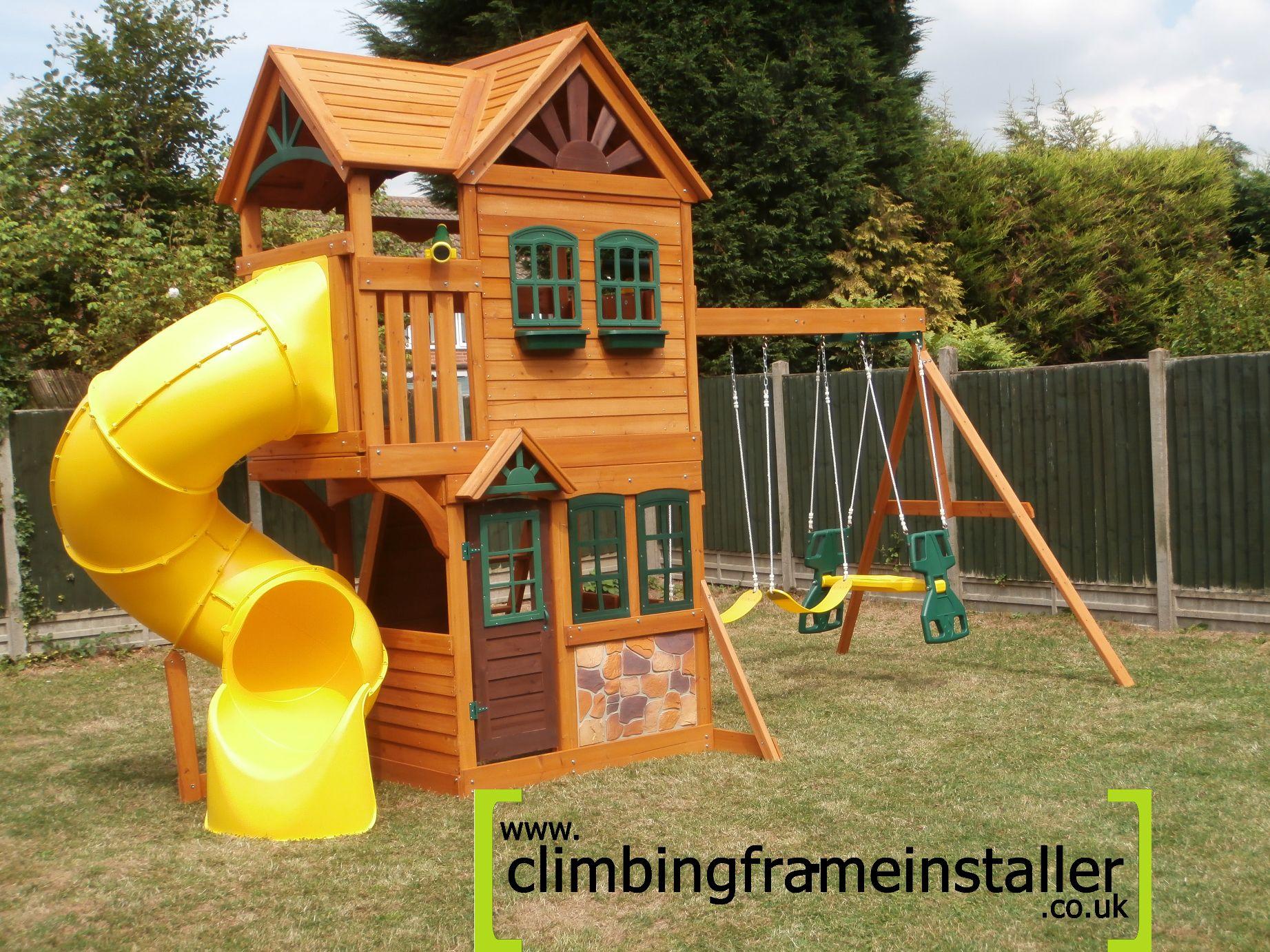 goldenridge playset archives climbing frame installer. Black Bedroom Furniture Sets. Home Design Ideas