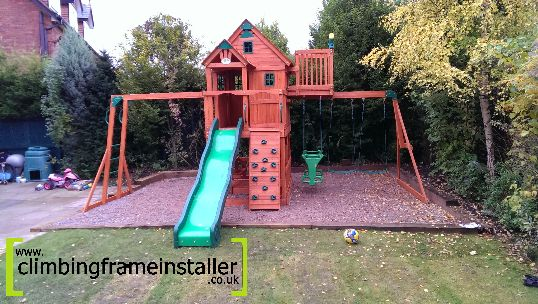 Safer Surfaces For Commercial Amp Domestic Climbing Frames