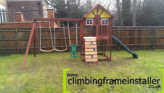 Climbing Frame Install