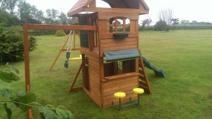 Ridgeview deluxe climbing frame selwood