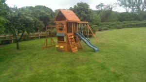 Ridgeview deluxe climbing frame selwood products