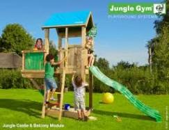 Jungle Gym Castle Balcony Climbing Frame
