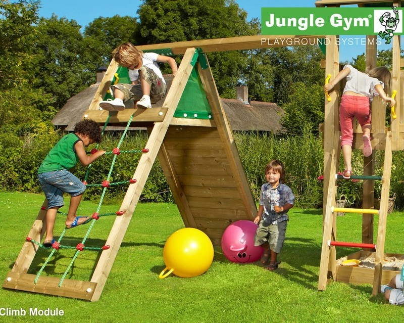the cubby climb x tra climbing frame from jungle gym. Black Bedroom Furniture Sets. Home Design Ideas