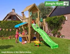 Mansion Mini Market Climbing Frame Jungle Gym