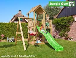 The Jungle Gym Mansion X'tra Climbing Frame