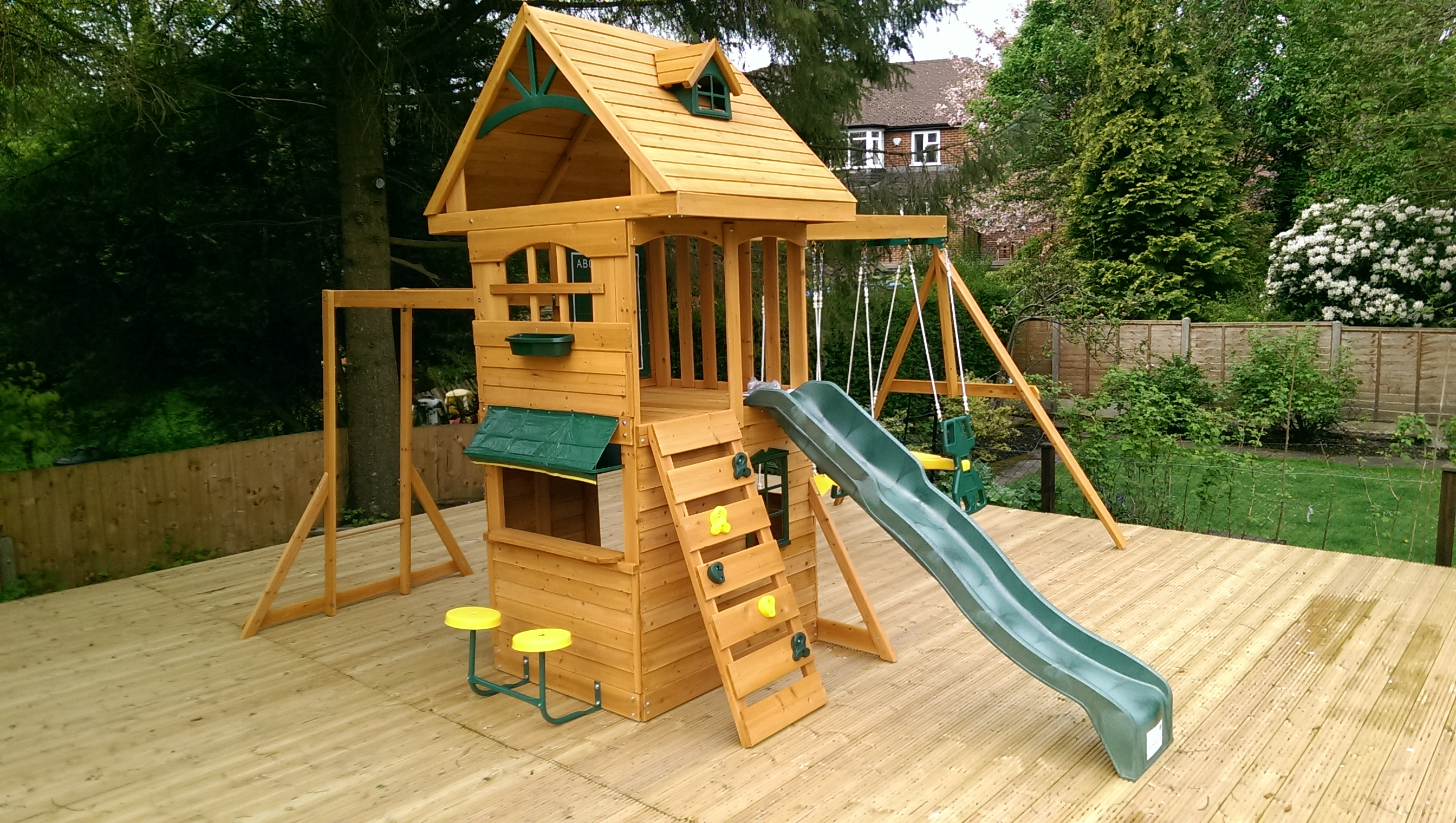 the selwood ridgeview deluxe play frame climbing frame installer. Black Bedroom Furniture Sets. Home Design Ideas