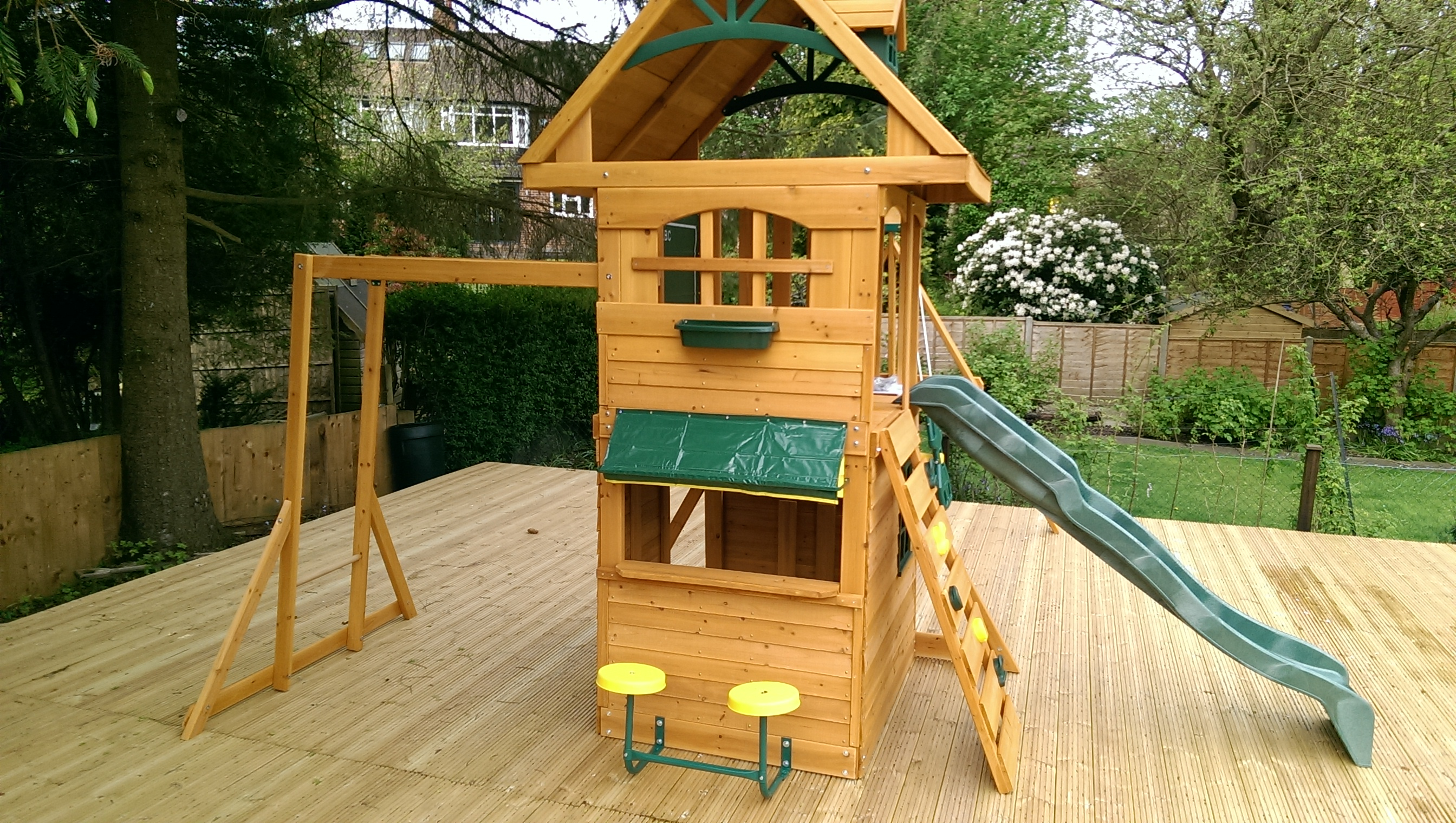 The Selwood Ridgeview Deluxe Play Frame