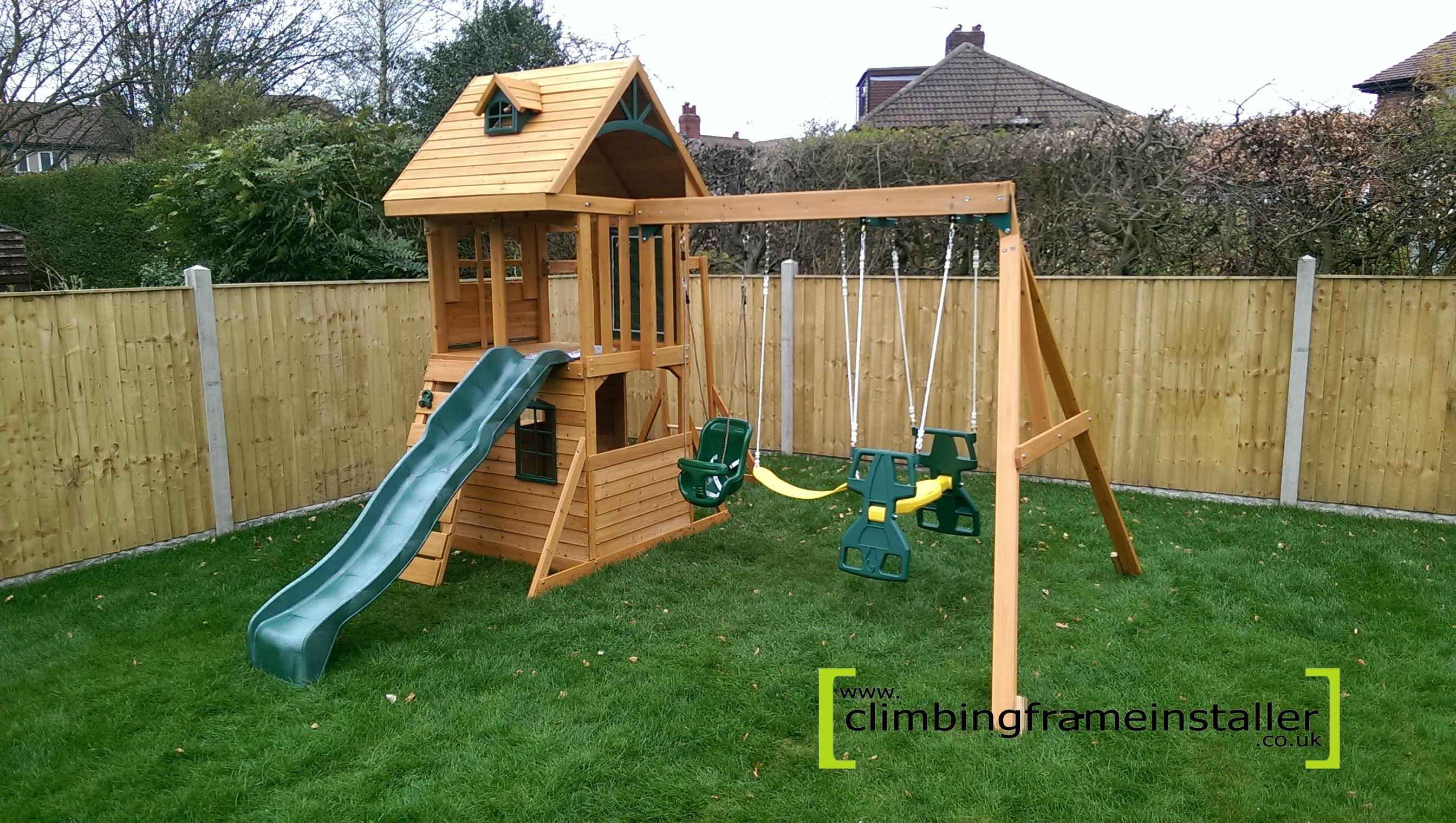the selwood ridgeview deluxe climbing frame. Black Bedroom Furniture Sets. Home Design Ideas