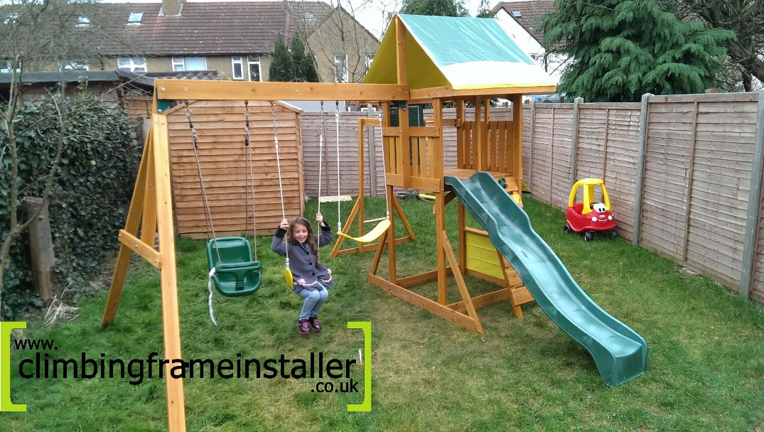 The Selwood Brightside Climbing Frame