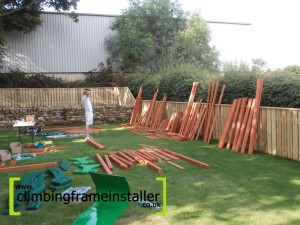 Climbing Frame Installation and Playset Building