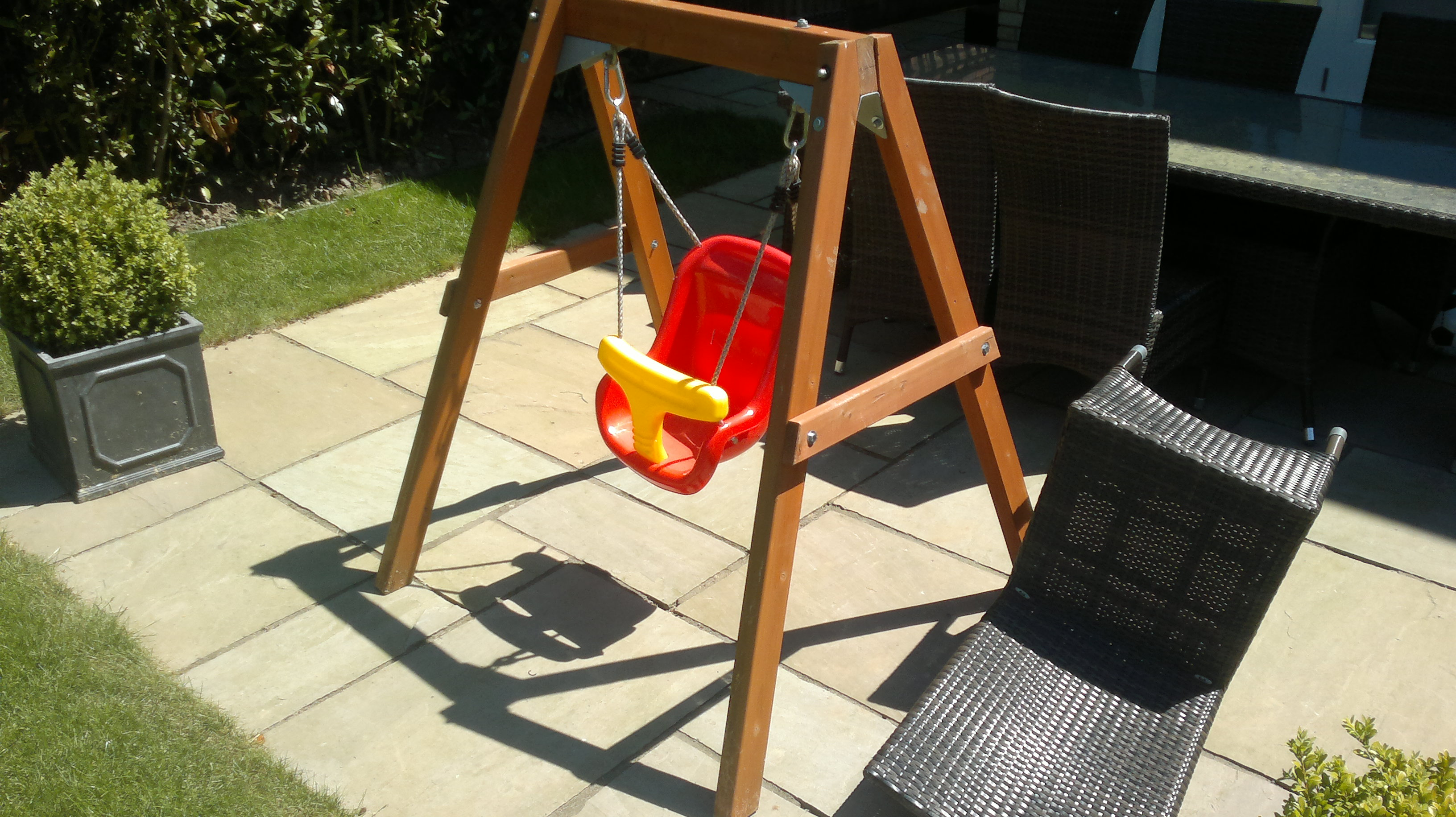 Plum Products Wooden Play Set Installation Climbing Frame Installer
