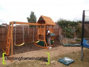 Climbing Frame Installation