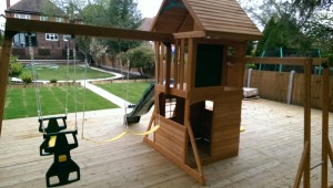 Ridgeview Deluxe Selwood Climbing Frame