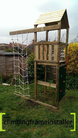 Action Arundel Tower Climbing Frame No Swing Arm