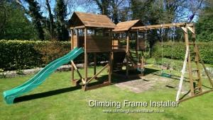 Dunster House Climbing Frame Installer Mega Fort Mountain